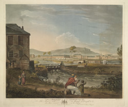 A View of Belfast from Cromack Water Mill